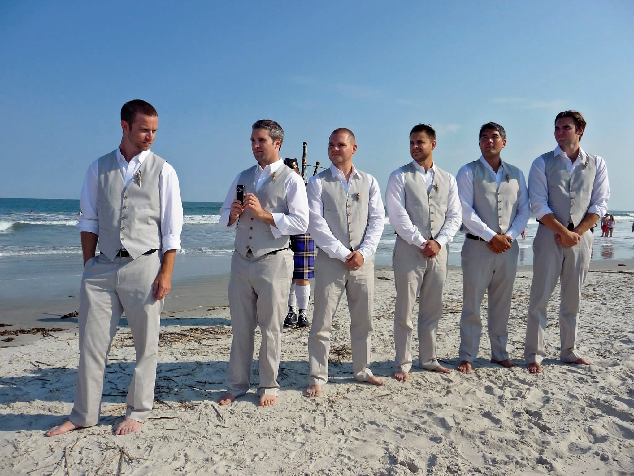 Awesome Destination Wedding Groomsmen Attire Ideas - Styles & Ideas ...