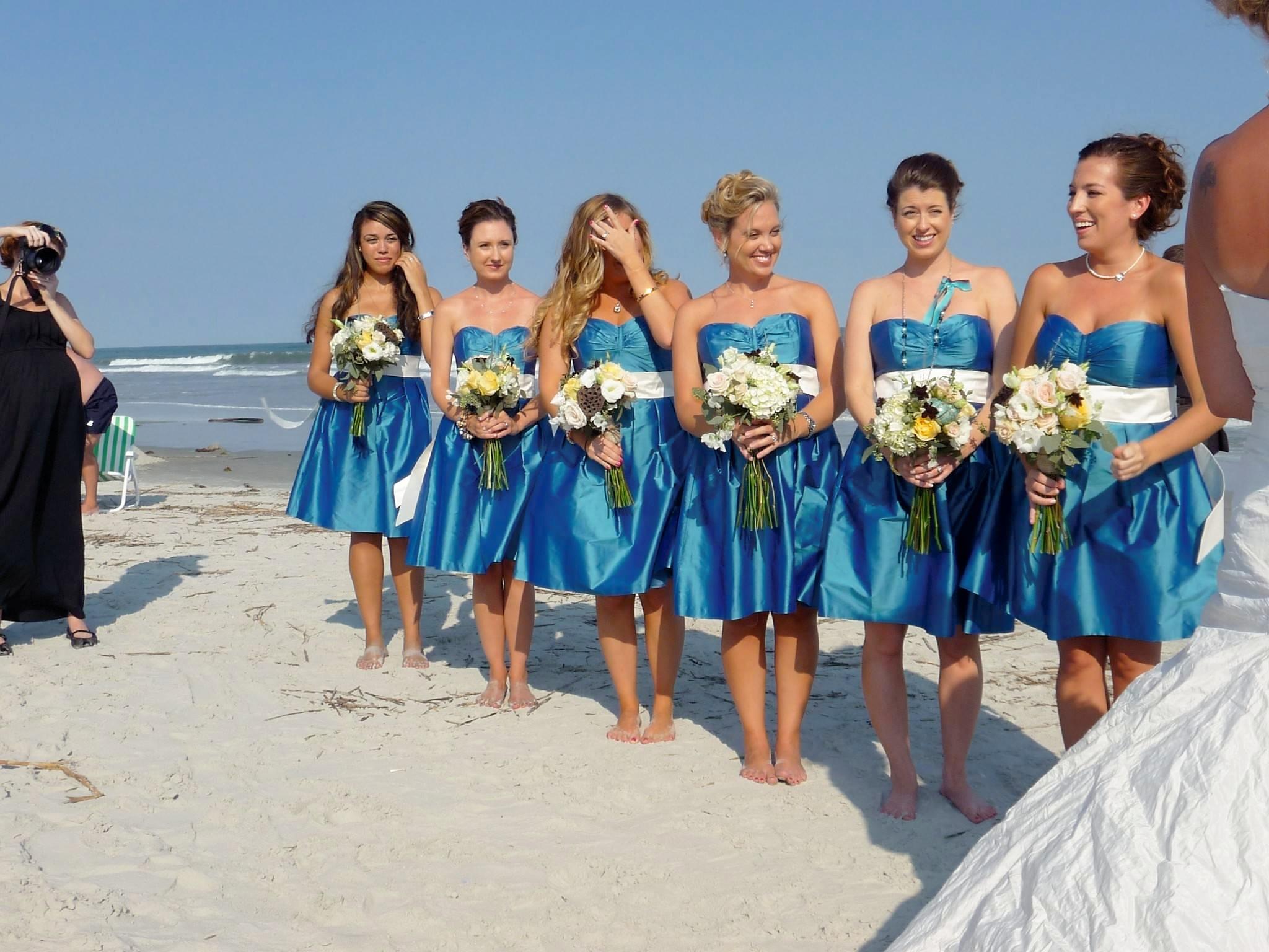 Destination Wedding Semi Formal Beach Style